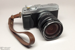 My Fujifilm X-E2 with Fujinon XF 18-55mm f/2.8-4 zoom lens Photo