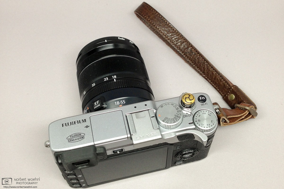 My Fujifilm X-E2 with Lensmate Thumbrest and Soft Release Button Photo