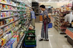 Convenience Store Fashion, Kanazawa, Japan Photo