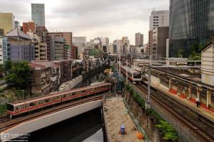 View from Ochanomizu Bridge, Tokyo, Japan Photo