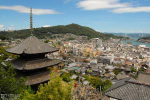 Tenneiji Pagoda, Onomichi, Hiroshima Pref., Japan Photo