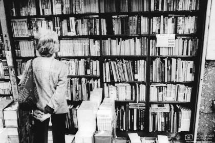 Used Books Shelf, Jimbocho, Tokyo, Japan Photo