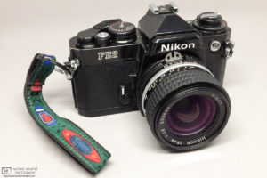My Nikon FE2 with with Nikkor 28mm f/2.8 lens photo