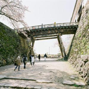 Spiral Approach, Hikone Castle, Hikone, Japan Photo