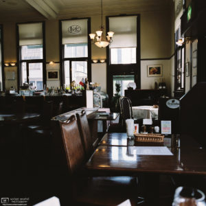 Showa Period Restaurant Interior, Kanazawa, Japan Photo
