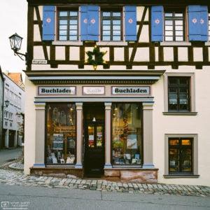 The Bookshop at the Corner (Buchhandlung Kolb), Rottweil, Germany Photo
