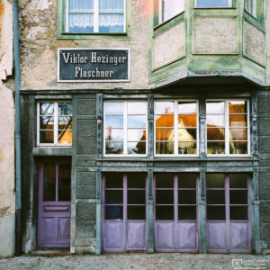 The old Plumber's Shop, Rottweil, Germany Photo