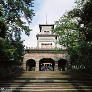 Ascent to Oyama Jinja, Kanazawa, Japan Photo