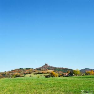 Autumn around Hohenzollern Castle, Hechingen, Germany Photo
