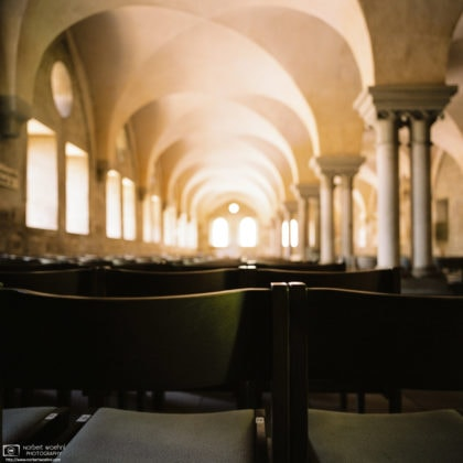 Lay Refectory (shot on Color Film), Maulbronn Monastery, Germany Photo