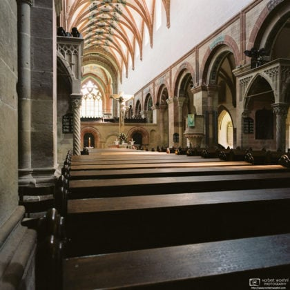 Abbey Church Interior, Maulbronn Monastery, Germany Photo