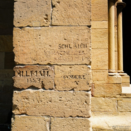 Graffiti from the Ages, Maulbronn Monastery, Germany Photo