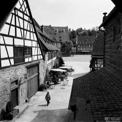 Half-timbered Buildings, Maulbronn Monastery, Germany Photo