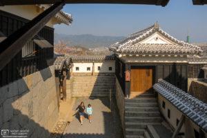 Matsuyama Castle, Shikoku, Japan Photo