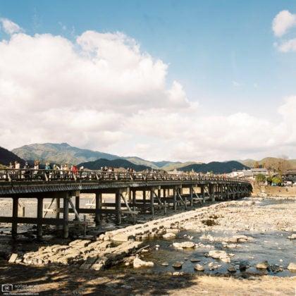 Togetsukyo Bridge, Arashiyama, Kyoto, Japan Photo