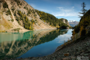 Lake Agnes with Teahouse, Banff National Park, Canada Photo