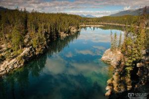 Horseshoe Lake, Jasper National Park, Canada Photo