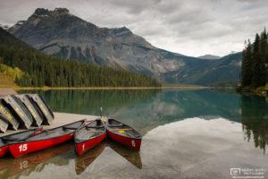 '15-1-6', Emerald Lake, Yoho National Park, Canada Photo