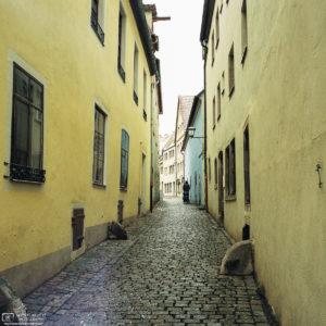 Trompetergässchen, Rothenburg ob der Tauber, Germany Photo