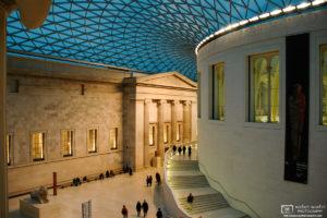 Great Court, British Museum, London, England Photo