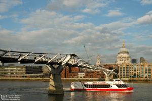 City Cruises (Millennium Bridge & St. Paul's), London, England Photo
