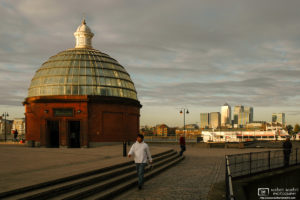 Greenwich Foot Tunnel Pavilion, London, England Photo