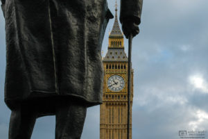 My take on the Winston Churchill statue on Parliament Square in London, England.