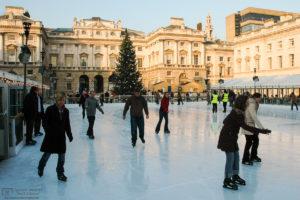 Somerset House Ice Rink, London, England Photo
