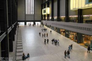 Turbine Hall at Tate Modern, London, England Photo