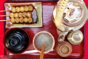 Autumn Snacks, Eikando Zenrinji Temple, Kyoto, Japan Photo