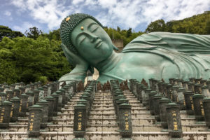 Reclining Buddha, Nanzoin Temple, Sasaguri, Fukuoka, Japan Photo
