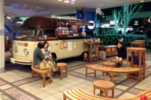 Volkswagen VW Coffee and Pizza Bus, Yurakucho, Tokyo, Japan Photo