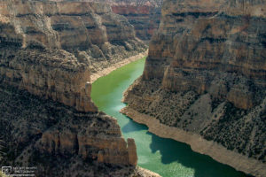 Devils Canyon Overlook, Bighorn Canyon, Wyoming, USA Photo