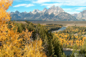Snake River Overlook, Grand Teton National Park, Wyoming, USA Photo