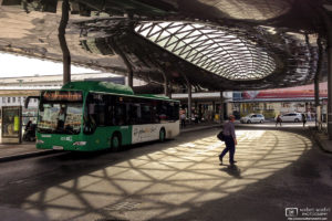 Main Station Hauptbahnhof Bus Terminal, Graz, Austria Photo