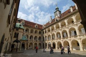 Inner Yard of Landhaus (16th Century), Graz, Austria Photo