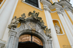 Detail of Church Portal, Mariatrost Basilica, Graz, Austria Photo