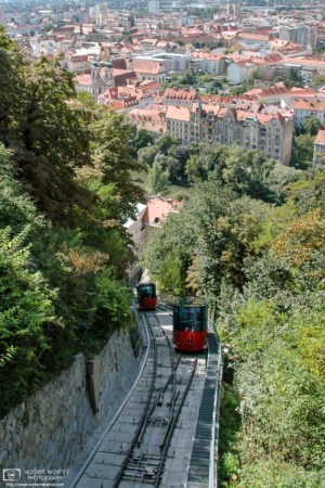 Schlossberg Funicular, Graz, Austria Photo