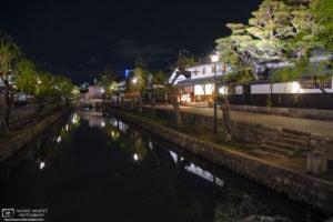 Night View, Bikan Historical Area, Kurashiki, Japan Photo