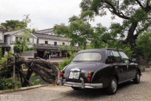 Historic Car, Bikan Historical Area, Kurashiki, Japan Photo