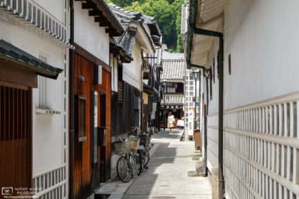 Old Side Street, Bikan Historical Area, Kurashiki, Japan Photo
