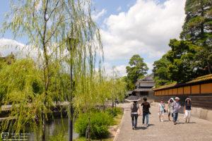 Summer along the Canal, Bikan Historical Area, Kurashiki, Japan Photo