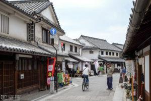 Old Town Street Scene, Kurashiki, Japan Photo