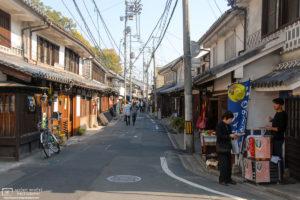 Side Street Shops, Kurashiki, Japan Photo