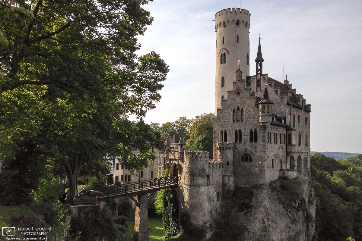 Lichtenstein Castle is a privately owned Gothic Revival castle located in the Swabian Jura of southern Germany.