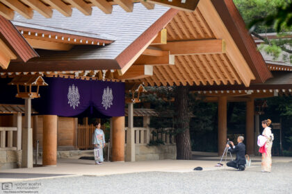 Atsuta Jingu in Nagoya is Japan's second-most important Shinto shrine, after the Ise Grand Shrine.