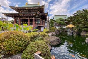Jōrenji Temple in the Itabashi ward of Tokyo, Japan, is home to the Big Buddha of Tokyo (Tokyo Daibutsu).